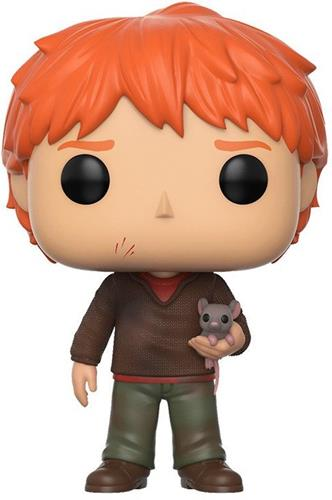 Funko Pop! Harry Potter Ron Weasley (w/ Scabbers) Icon