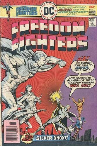 DC Comics Freedom Fighters (1976) Freedom Fighters (1976) #2 Stock