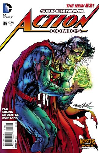 DC Comics Action Comics (2011 - 2016) Action Comics (2011) #35A Icon