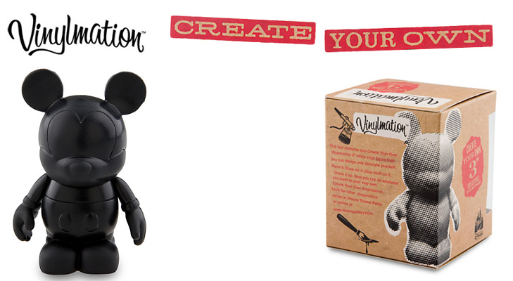 Vinylmation Open And Misc Create Your Own Black