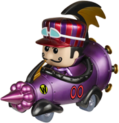 Funko Pop! Rides Mean Machine w/ Dick Dastardly (Metallic)
