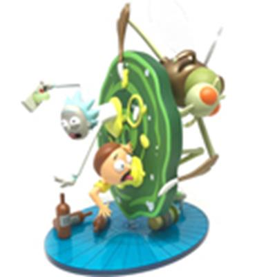 Kid Robot Art Figures Rick & Morty