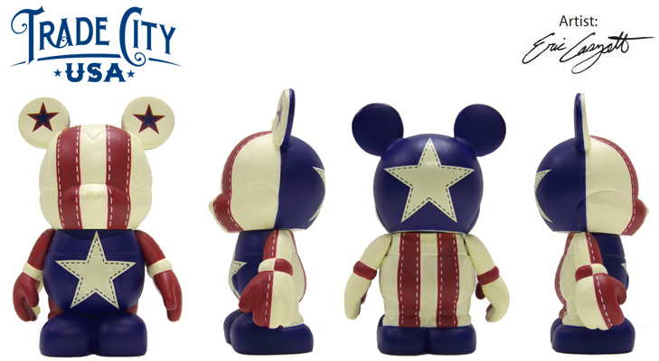 Vinylmation Open And Misc Trade City Americana