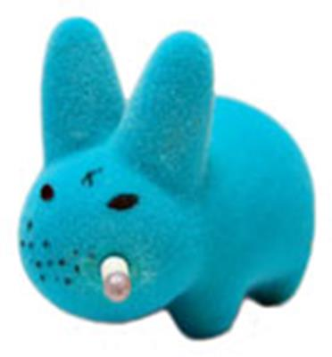 Kid Robot Labbit Packs Silver Pimp Disco Godfather: Blue