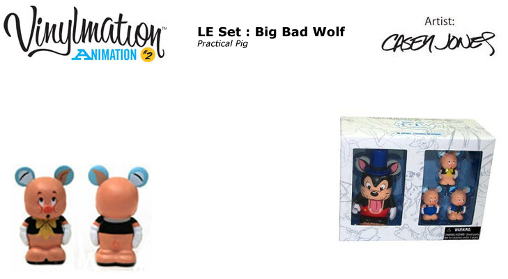 Vinylmation Open And Misc Animation 2 Practical Pig