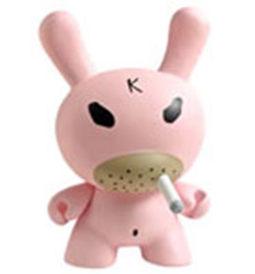 "Kid Robot 8"" Dunnys Pink Hate"