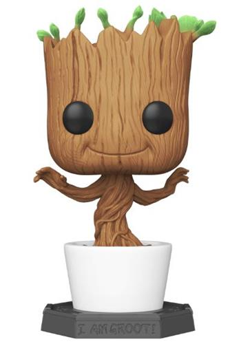 Funko Pop! Marvel Groot (Flocked)