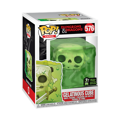 Funko Pop! Games Gelatinous Cube Stock
