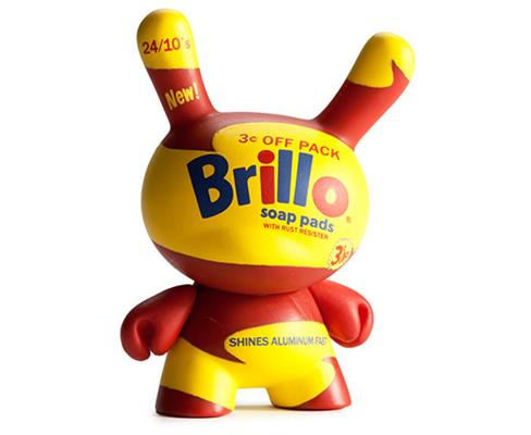 Kid Robot Blind Boxes Andy Warhol Series 1 Yellow Brillo