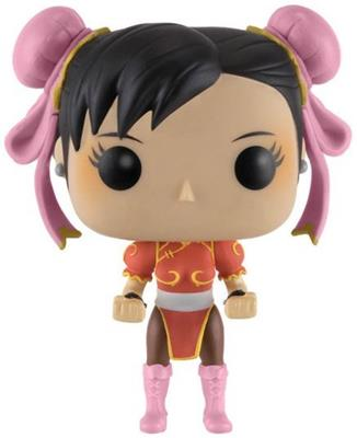 Funko Pop! Games Chun-Li (Red Outfit)