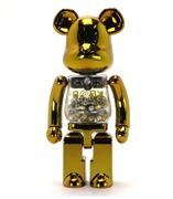 Be@rbrick My First B@by Be@rbrick Gold & Silver Baby 1000%