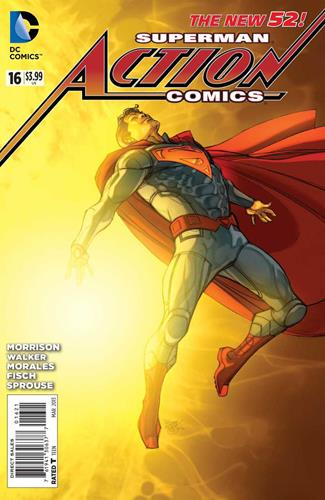DC Comics Action Comics (2011 - 2016) Action Comics (2011) #16B Stock