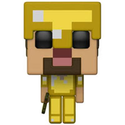 Funko Pop! Games Steve in Gold Armor