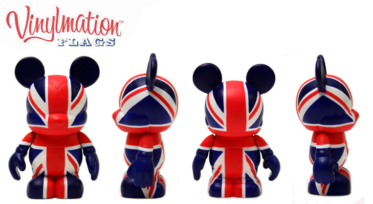 Vinylmation Open And Misc Flags United Kingdom