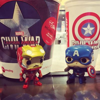 Funko Pop! Marvel Captain America (Civil War) (Action Pose) funko-pop-in-paradise on tumblr.com