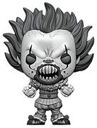 Funko Pop! Movies Pennywise (w/ Teeth) - B&W