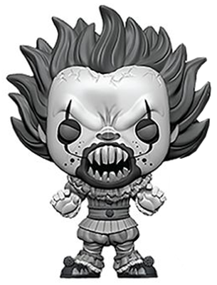 Funko Pop! Movies Pennywise (w/ Teeth) - B&W Icon