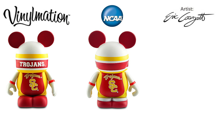 Vinylmation Open And Misc College USC Trojans
