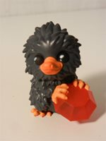 Mystery Minis Fantastic Beasts Baby Niffler Gray w/ ruby