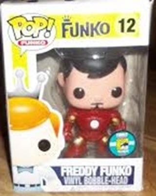 Funko Pop! Freddy Funko Tony Stark Stock