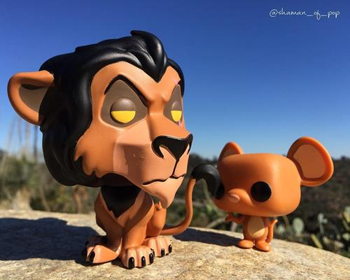 Funko Pop! Disney Scar shaman_of_pop on instagram.com