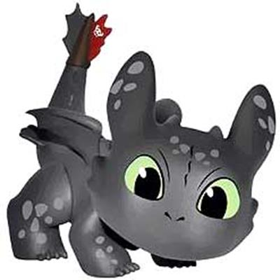 Mystery Minis How To Train Your Dragon 2 Toothless (Crouch) Stock