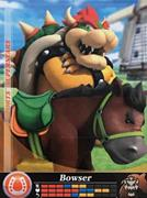Amiibo Cards Mario Sports Superstars Bowser - Horse Racing