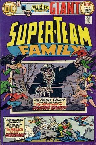 DC Comics Super-Team Family (1975 - 1978) Super-Team Family (1975) #4 Icon Thumb