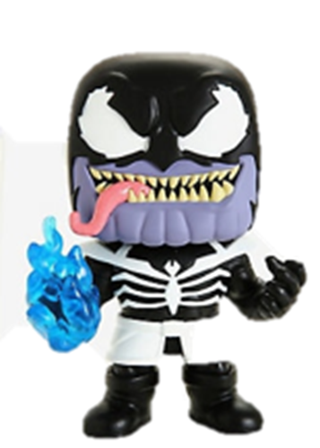 Funko Pop! Marvel Venomized Thanos (GITD) Icon