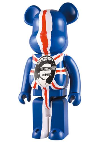 Be@rbrick Sex Pistols God save the Queen 1000% Icon