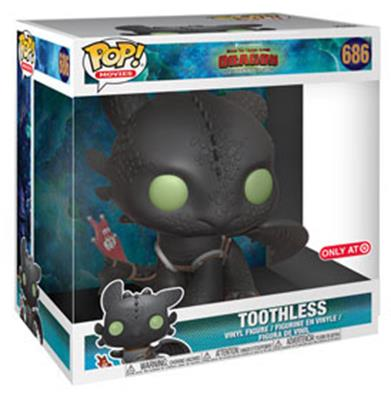"Funko Pop! Movies Toothless - 10"" Stock Thumb"