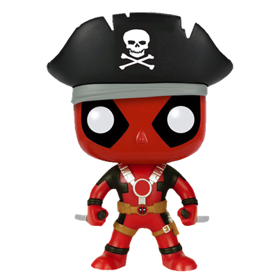 Funko Pop! Marvel Deadpool (Pirate)