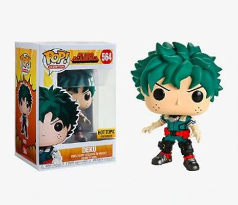 Funko Pop! Animation Deku Hot Topic Stock