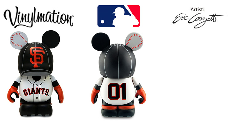 Vinylmation Open And Misc MLB San Francisco Giants