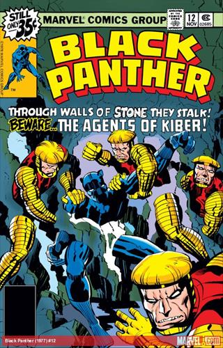 Marvel Comics Black Panther (1977 - 1979) Black Panther (1977) #12