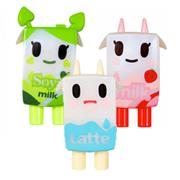 Tokidoki Moofia Misc Moofia 3-Pack: Strawberry Milk, Soya & Latte