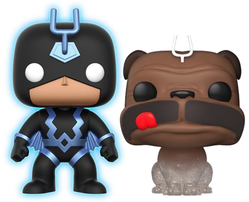Funko Pop! Marvel Black Bolt and Lockjaw