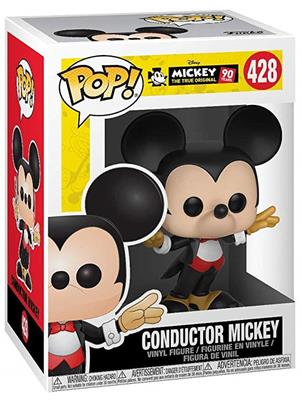 Funko Pop! Disney Mickey Mouse (Conductor) Stock