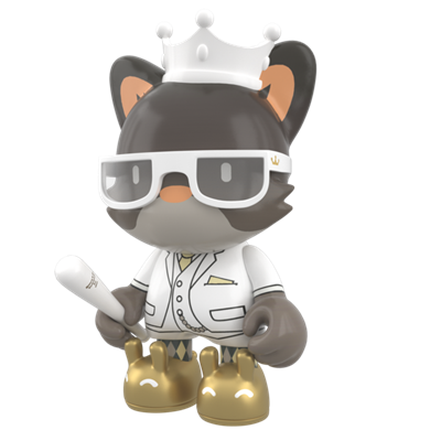 Superplastic Vinyl Toys King Janky the Second Icon