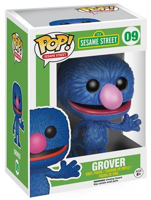 Funko Pop! Sesame Street Grover Stock