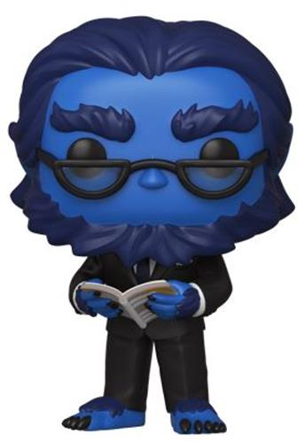 Funko Pop! Marvel Beast (Flocked)