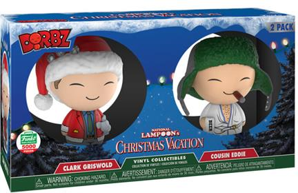 Dorbz Movies Christmas Vacation (2-Pack) Stock