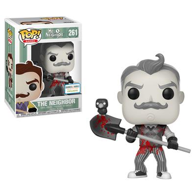 Funko Pop! Games The Neighbor (Bloody) - B&W Stock