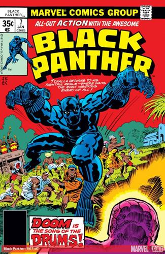 Marvel Comics Black Panther (1977 - 1979) Black Panther (1977) #7