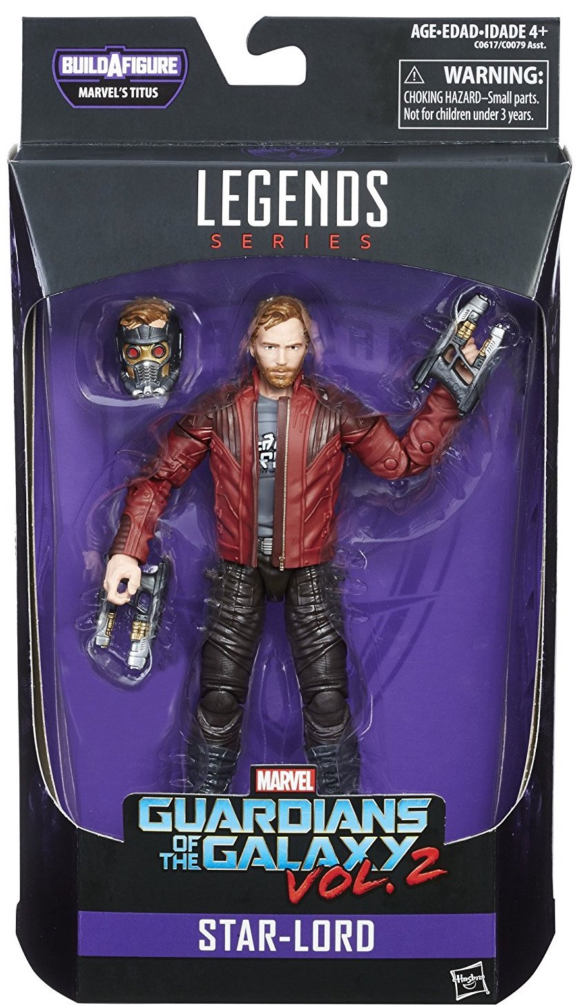 Marvel Legends Titus Series Star-Lord