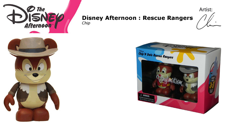 Vinylmation Open And Misc Disney Afternoon Chip