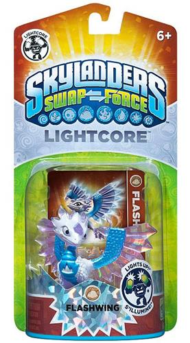 Skylanders Swap Force LightCore Flashwing Stock Thumb