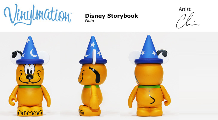 Vinylmation Open And Misc Donald & Pluto Pluto