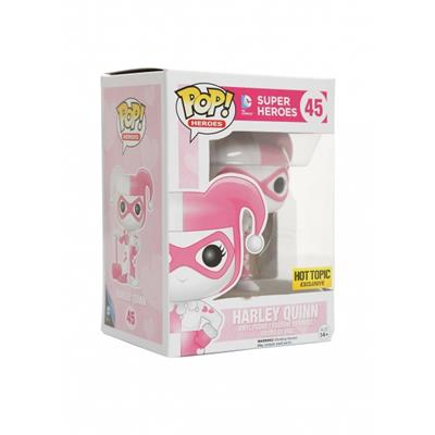 Funko Pop! Heroes Harley Quinn with Mallet (Pink Diamond) Stock