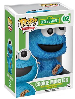 Funko Pop! Sesame Street Cookie Monster Stock